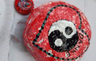 Mandala-Herz von Gabi Zisonic