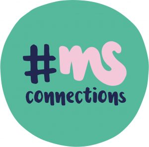 Logo Welt-MS-Tag: #msconnections