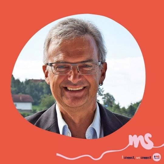 Dr. Frank Witte, Vorstandsmitglied MS-Gesellschaft OÖ, Obmann MS-Gruppe Perg, Gründer Neurofit Bad Zell